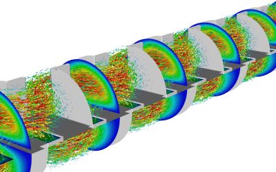 Flow analysis (CFD simulation)